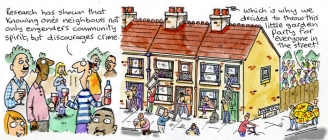 Neighbours-Clare In The Community by Harry Venning